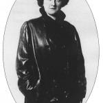 Maria Czaplicka i jej portret z syberyjskiej podróży 1916 r.
