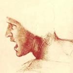 Leonardo da Vinci - studium twarzy
