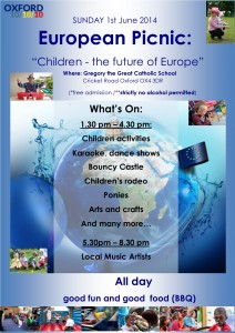 European Picnic to celebrate International Children's Day