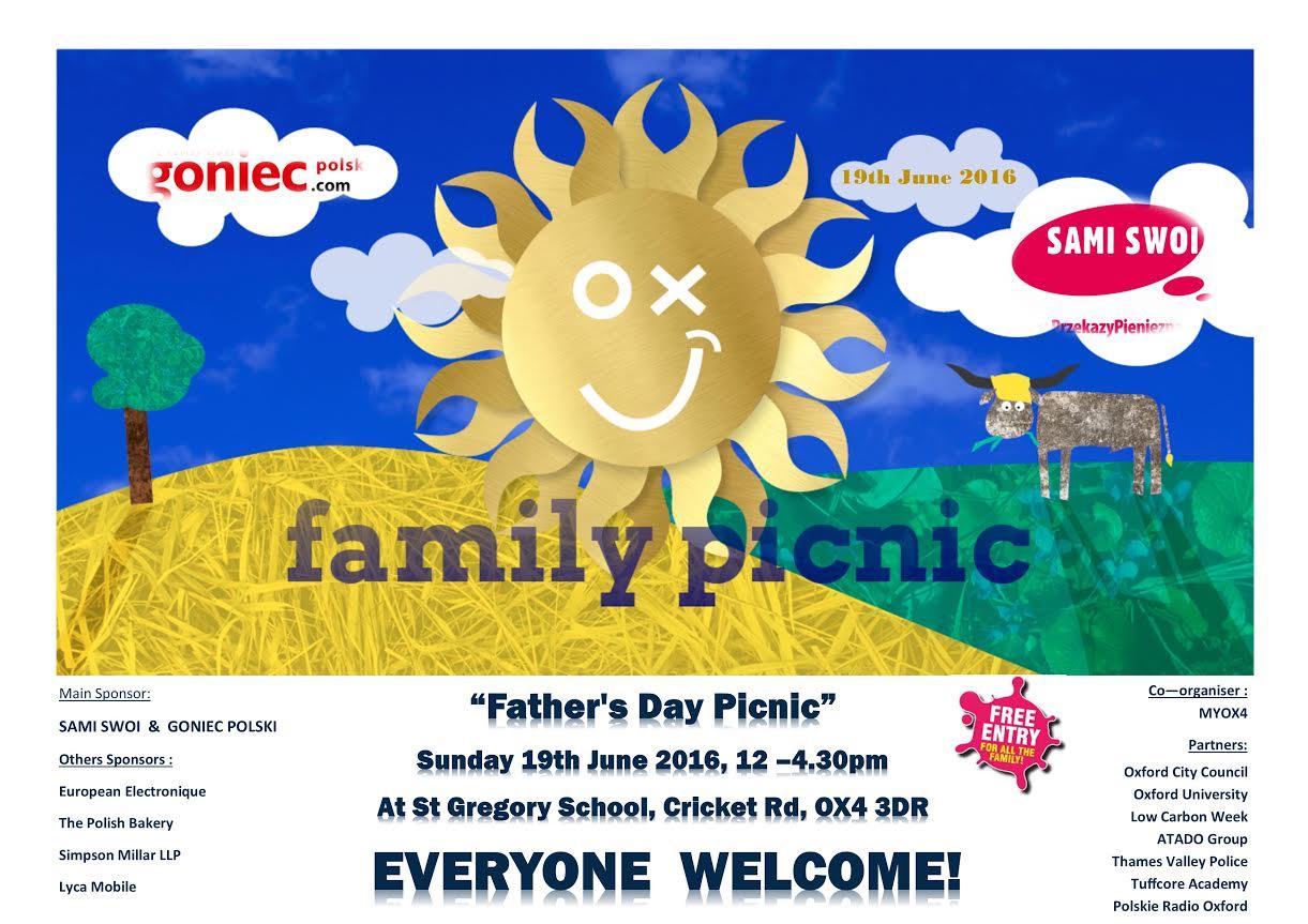 Oxford family picnic / piknik rodzinny
