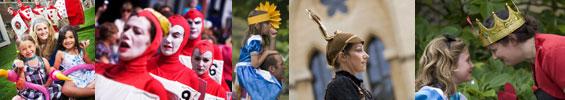Alice's Day at Oxford Castle