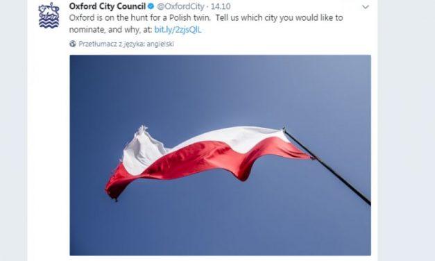 Oxford szuka miasta partnerskiego w Polsce [ZAGŁOSUJ]
